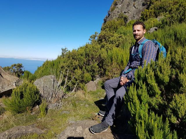 Madeira, der Picu Ruivo.