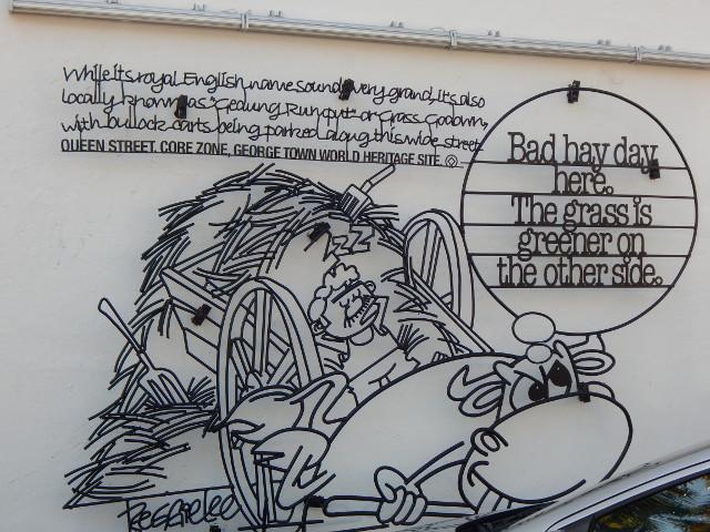 streetart penang queenstreet