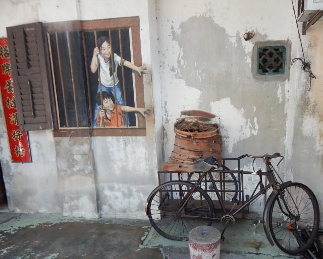 Street Art Penang I Want Bao, W K Setor