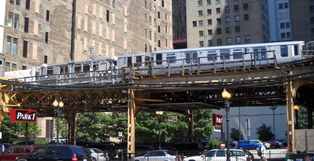 Chicago Elevated, die Hochbahn