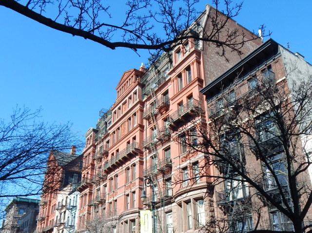 Die Häuser in Red Hook Brooklyn