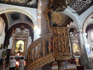 Das Innere der Iglesia de El Salvador