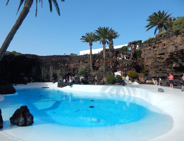 Der Pool von Manrique auf Lanzarote