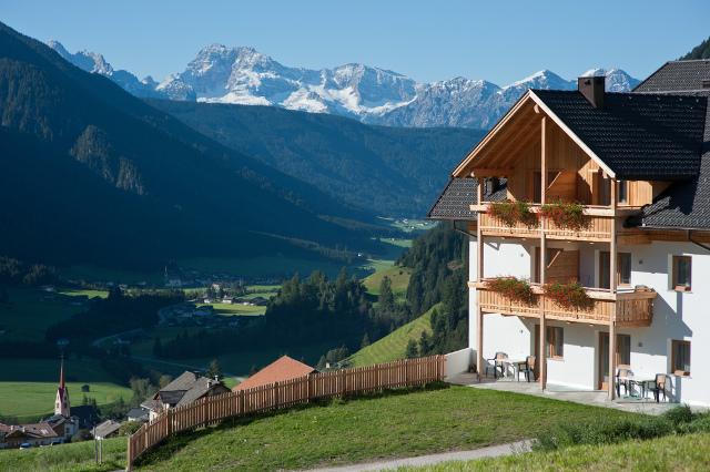 Ferienwohnungen mit Alpenblick