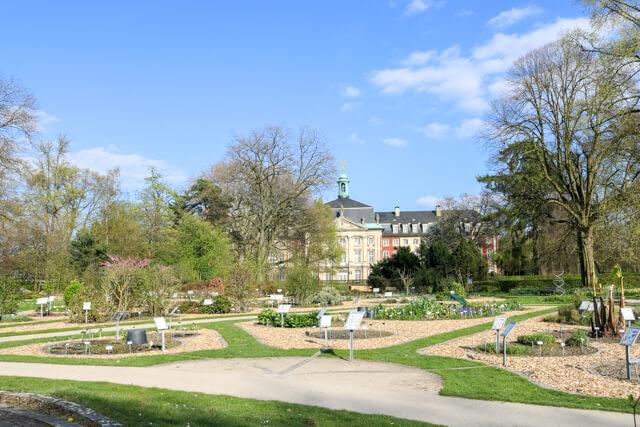 Botanischer Garten Münster copyright Reisefunken