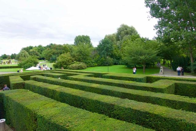 Gärten der Welt in Berlin, Heckenirrgarten, © PetersTravel