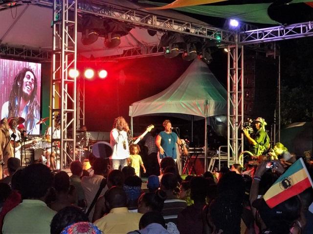 Bob Marley Geburtstagskonzert in Kingston