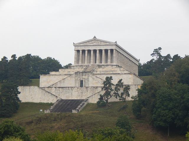 Die Gedenkstätte Walhalla bei Regensburg