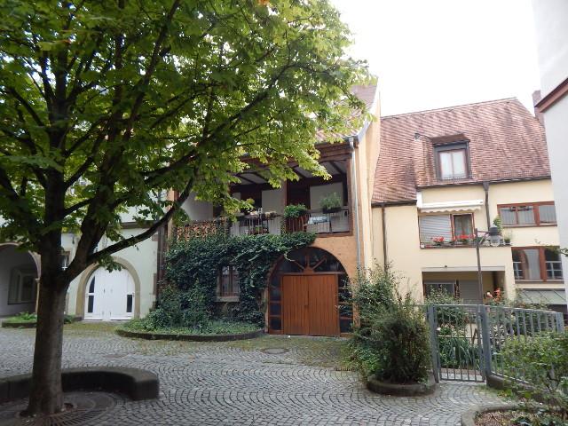 Hübscher Hinterhof in Schweinfurt