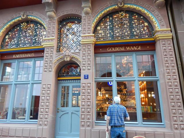 Kaffeehaus Goldene Waage in der Neuen Altstadt Frankfurt