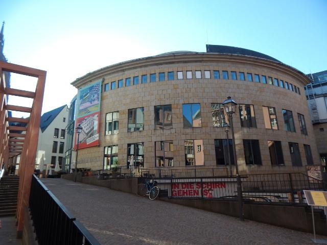 Die Schirn Kunsthalle in Frankfurt