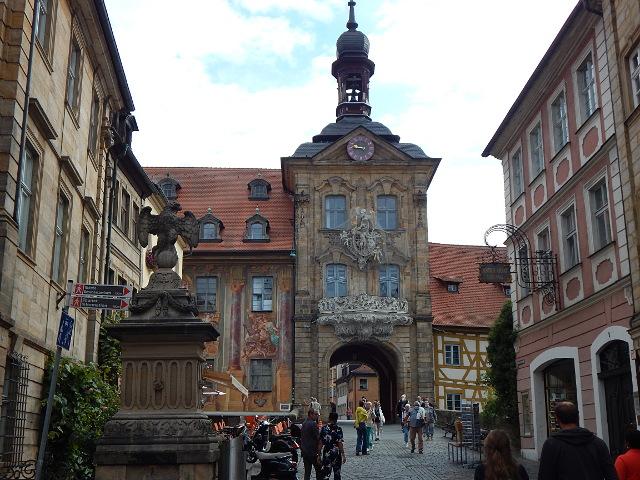 Weg zum Bamberger Rathaus