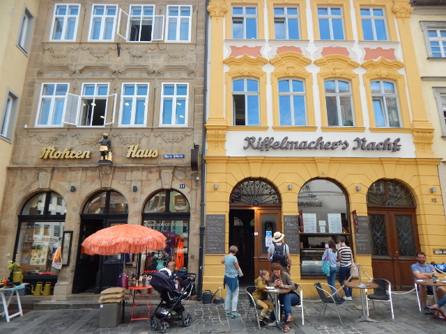 Eis essen in Bamberg
