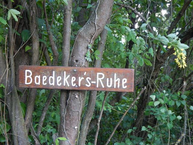 Baedekers Ruhe in Boppard