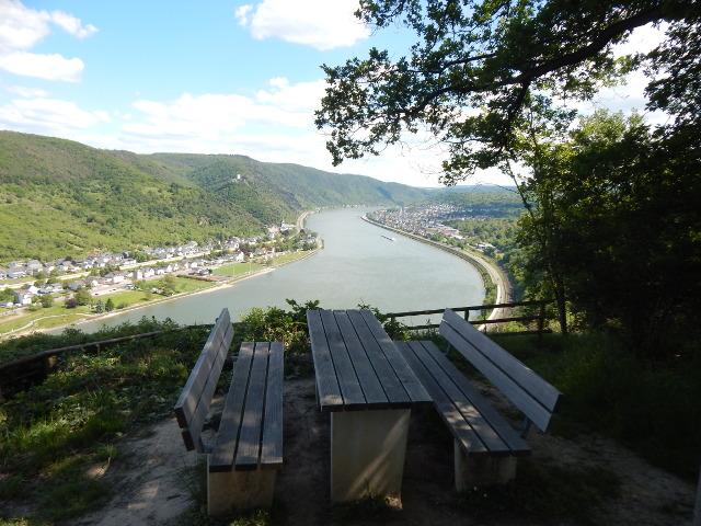 Aussichtspunkt Steinerner Mann mit Picknicktisch