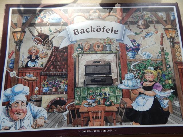 Das Backöfele in Würzburg mit original fränkischer Küche