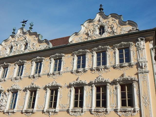 Das Falkenhaus in Würzburg Rundgang