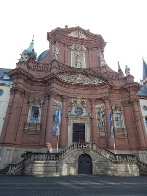 Das Neumünster in Würzburg