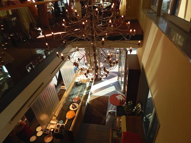 Unser Ausblickim Café in Wertheim