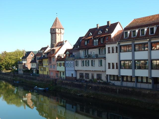 Wertheim Rundgang entlang der Tauber