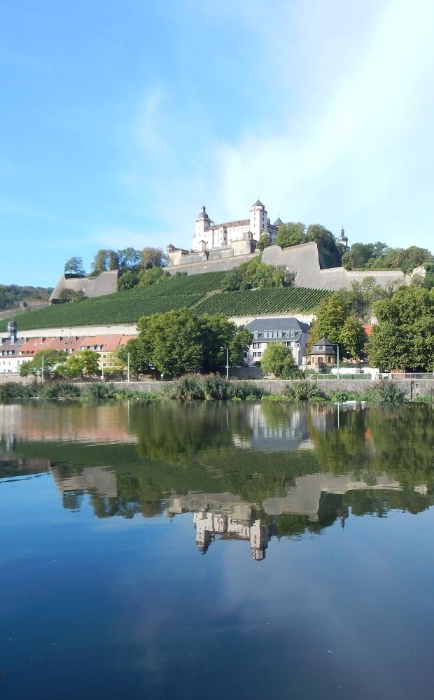 Würzburg Rundgang zum Pinnen