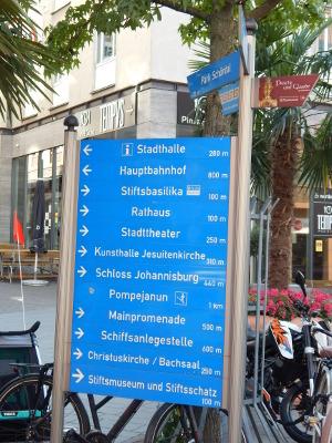 Innenstadt von Aschaffenburg
