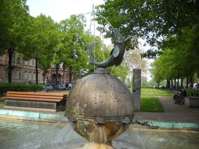 Der Fischtorbrunnen in Mainz