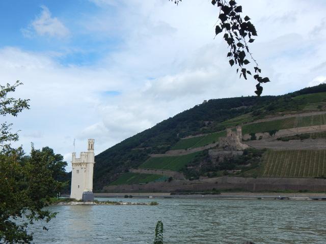 Bingen am Rhein, Victor Hugo-Blick auf Mäuseturm