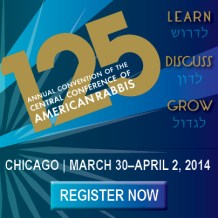 See You in Chicago!: From the First CCAR Convention Registrant