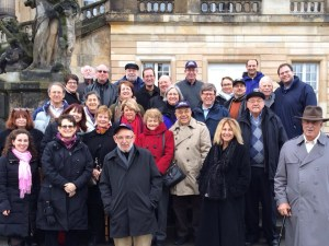 Rabbis and spouses on the CCAR Rabbinic Mission to Berlin