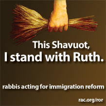 We Stand With Ruth as We Get Ready for Shavuot