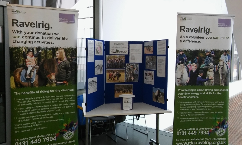 Ravelrig's stand