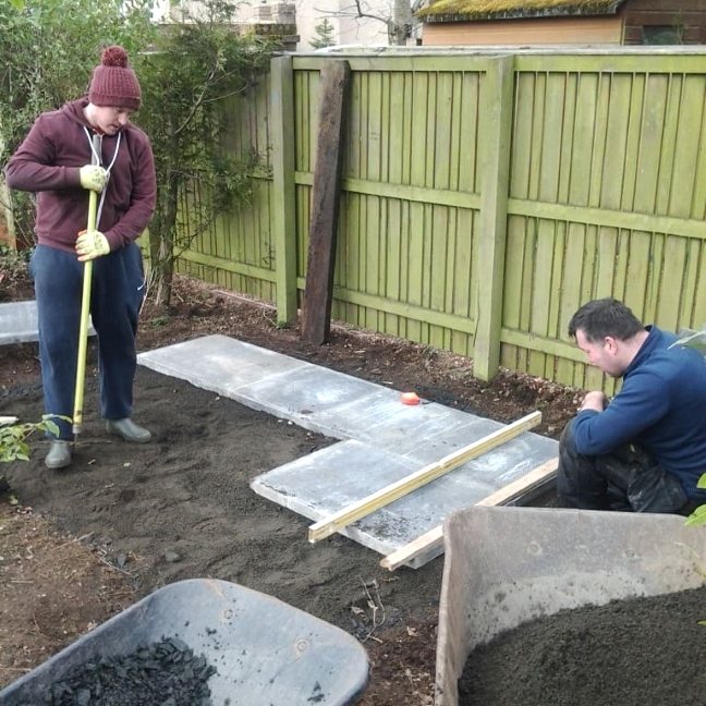 Levelling the ground