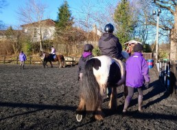 Riding lessons at Ravelrig
