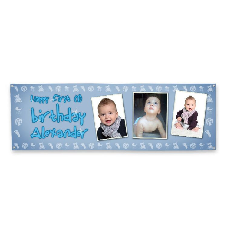 Personalised Birthday Banners With Photos Custom Banners