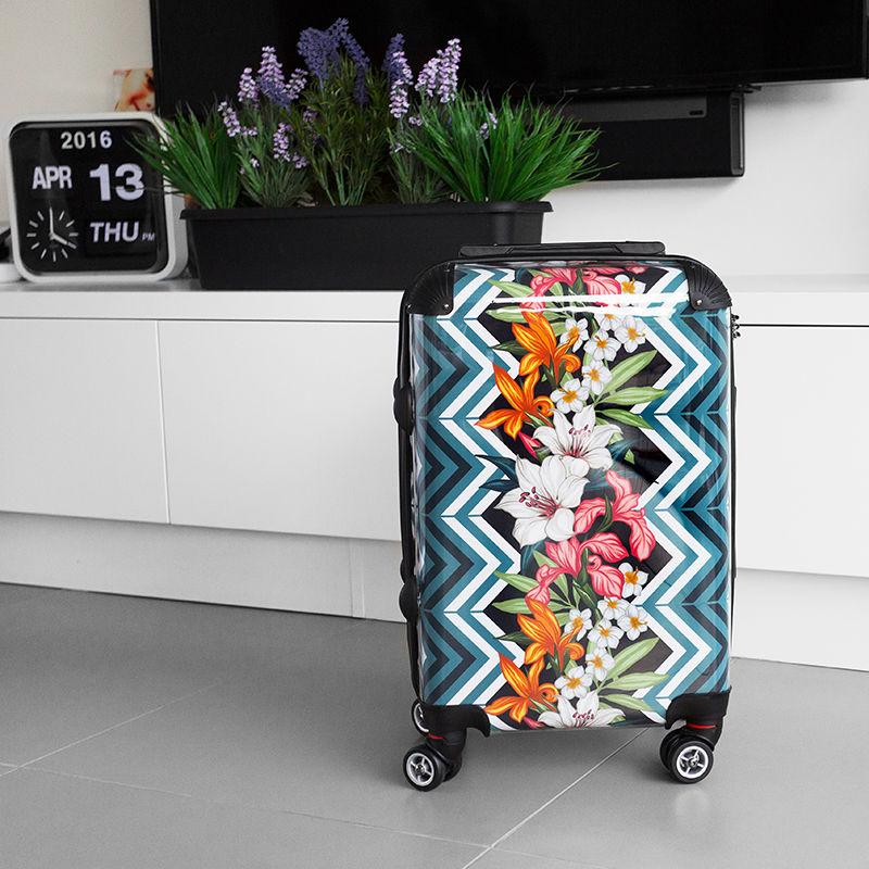 Hartschalenkoffer Mit Motiv Trolley Koffer Reisekoffer Tsa Schloss Mit Zwillingsrollen Online Kaufen Stylekiste