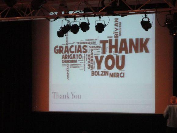 Gracias en muchos idiomas