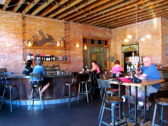 Inside The Fainting Goat