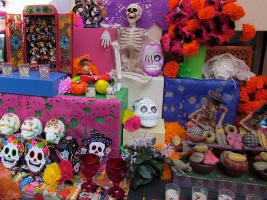Dia De Los Muertos Offerings