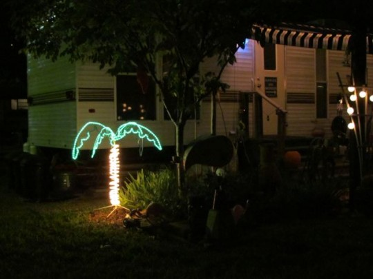 Neon Landscaping At Pecan Grove