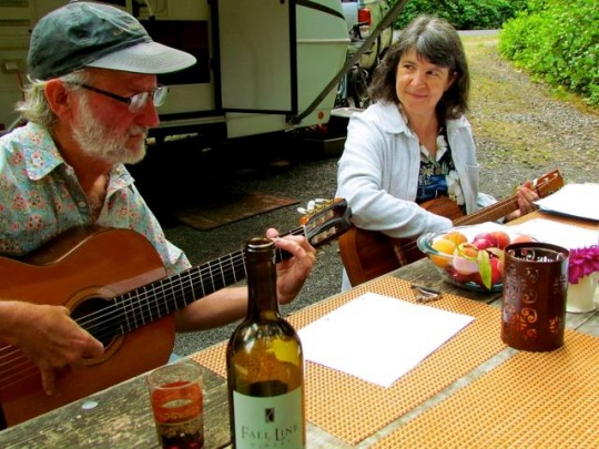 Music Evening With Bruce And Sheila