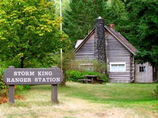Storm King Ranger Station