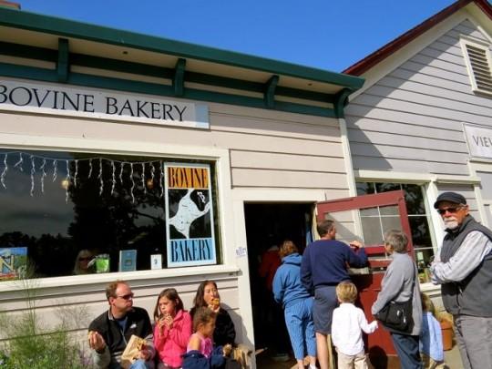 In Line At Bovine Bakery
