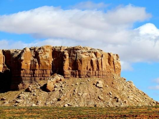 Sculpted Rock On Cedar Mesa