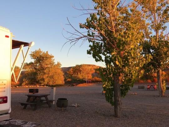 Nice Site At Cadillac Ranch RV Park