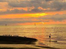 Sunrise at Curry Hammock