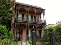Italianate-style mansion in the Garden District