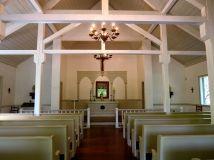 Inside the simple church