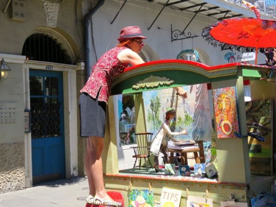 Talented Marionette Artist