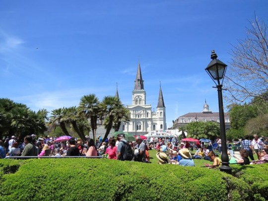 Jackson Square During The Festival
